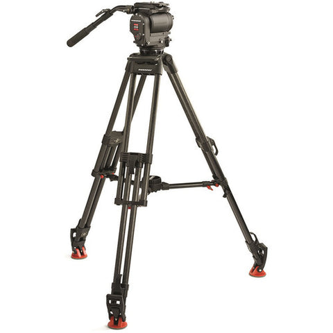 O'Connor Ultimate 1030D S Fluid Head & 30L CF Tripod with Mid-Level Spreader tripod system for rent in Utah
