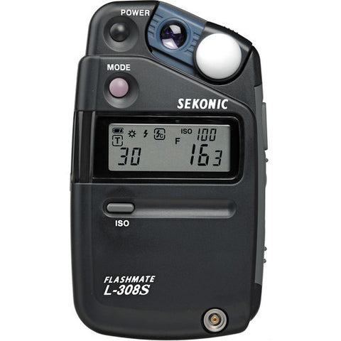 Sekonic L-308S Flashmate - Digital Incident, Reflected, and Flash Light Meter