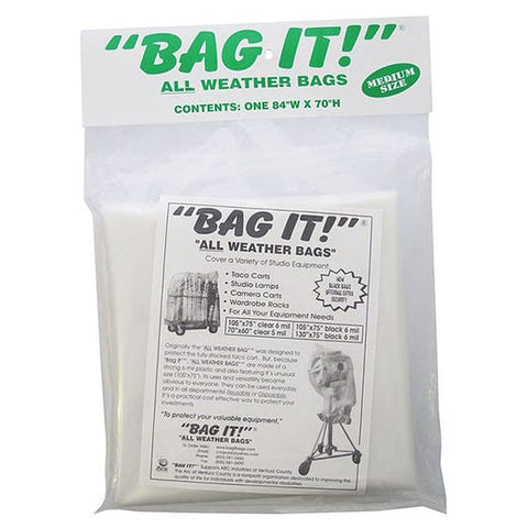 BAG IT! Visqueen Bags/Tarps/Rain Covers - Clear