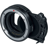 Canon Drop-In Filter Mount Adapter EF-RF with Variable ND and Polarizer