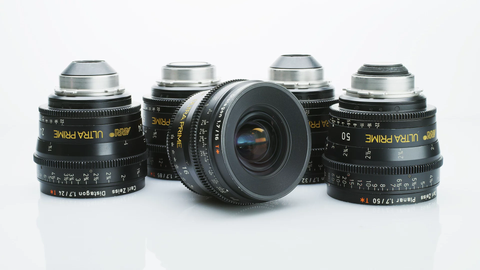 ARRI ZEISS Ultra Prime Lens Set