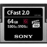 Sony 64GB CFast 2.0 G Series Memory Card