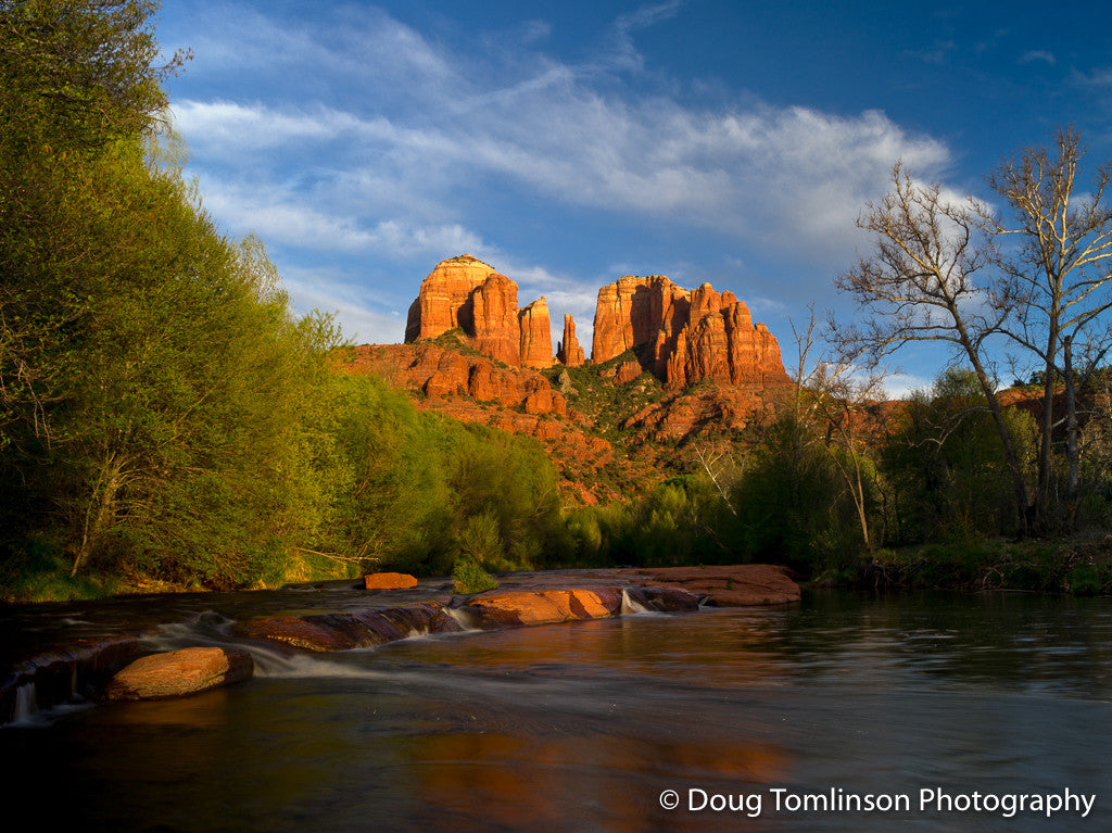 Cathedral Rock Sunset - 1501