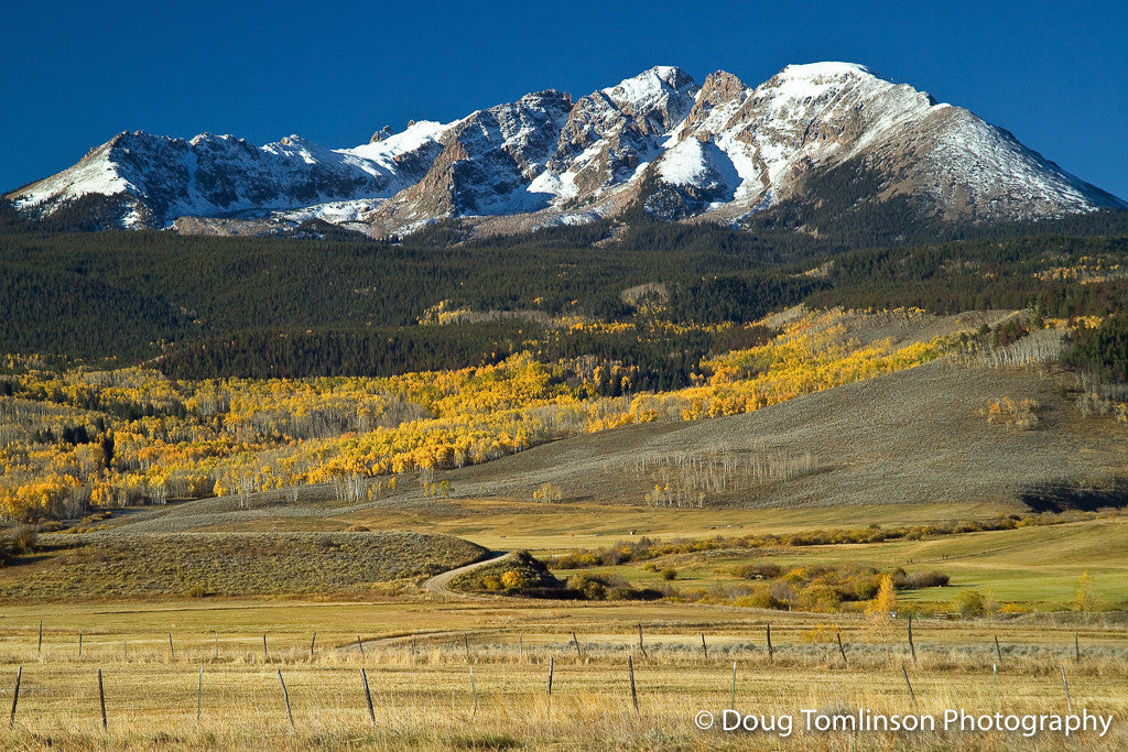 Fall on the Gore Range - 1099