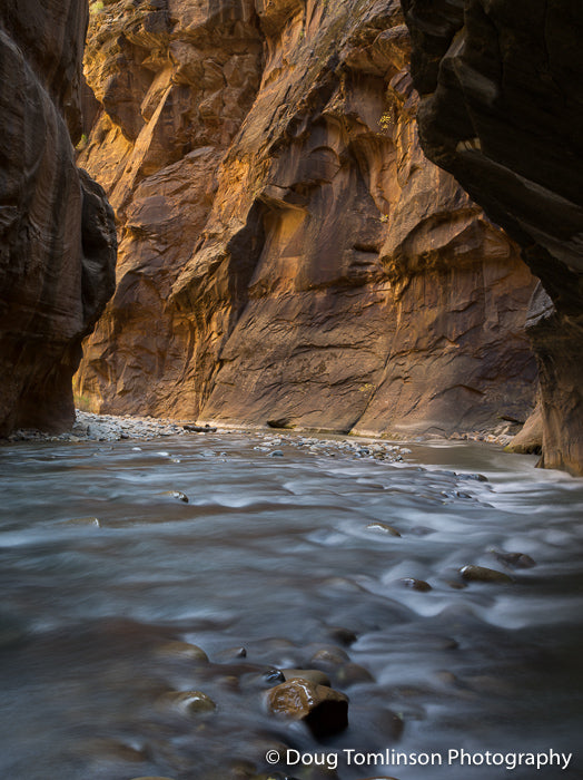 Flowing Virgin River - 1507