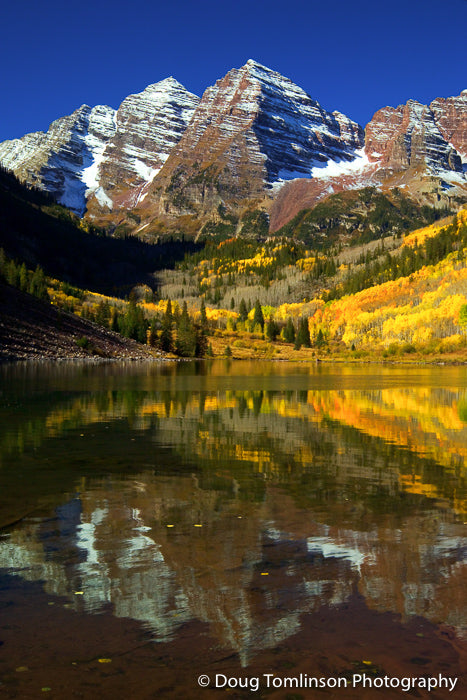 Maroon Bells  Reflection - 1053