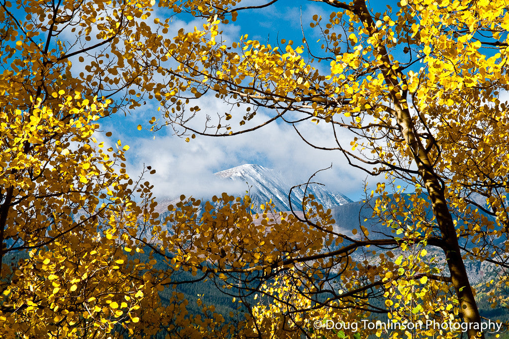 Quandary Peak in Autumn - 1015