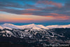 Sunrise Over Breckenridge Ski Resort - 1154