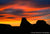 Sunset on Arizona Buttes - 1323