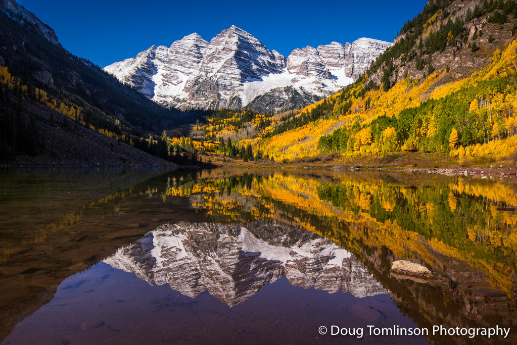 The Majestic Maroon Bells - 1552