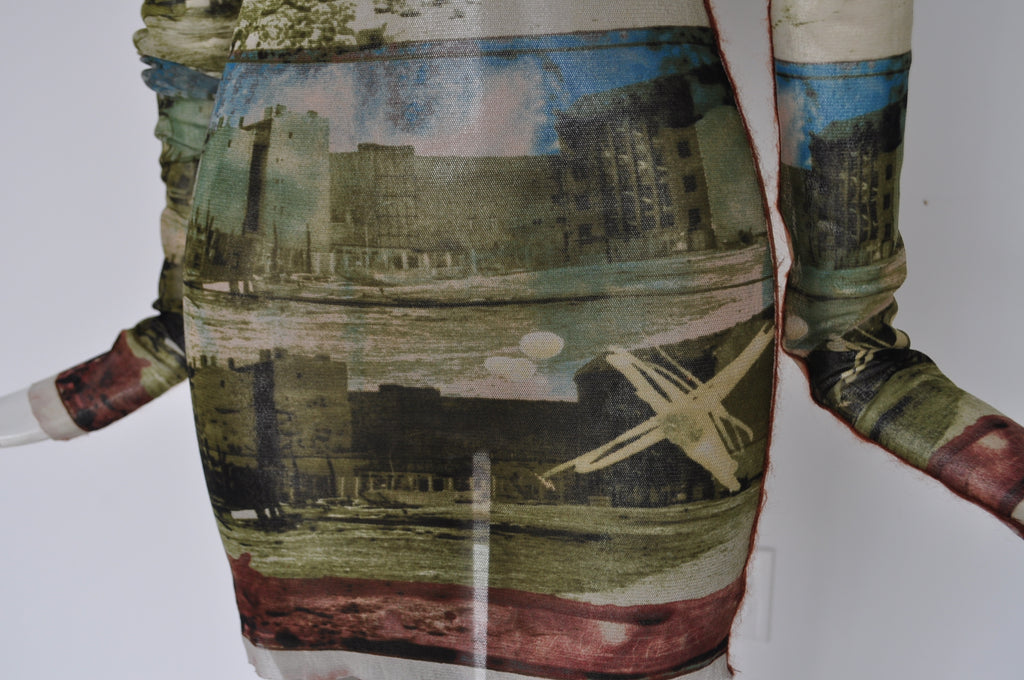 Jean Paul Gaultier printed shirt