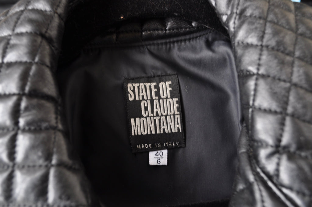 State of Claude Montana jacket 80s
