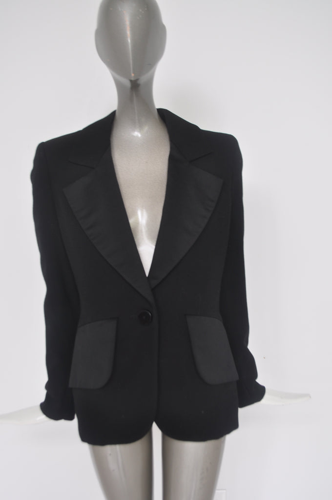 Yves Saint Laurent jacket from the 80s Avantgarde