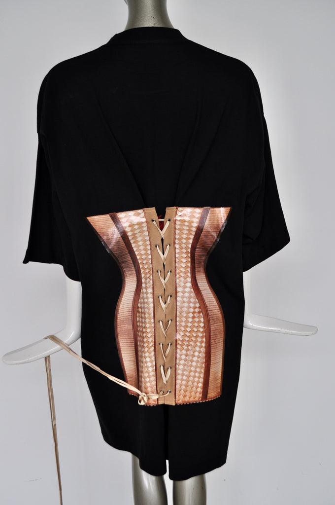Jean Paul Gaultier by Beth Ditto shirt with corset