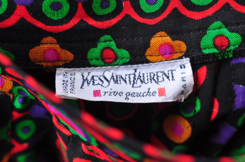 Yves Saint Laurent palazzo pants from the 90s