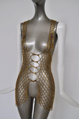 Avant-garde Herve Leger dress 2001