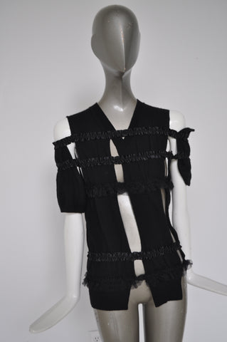 Ric Owens asymetrical sheer jacket sz s