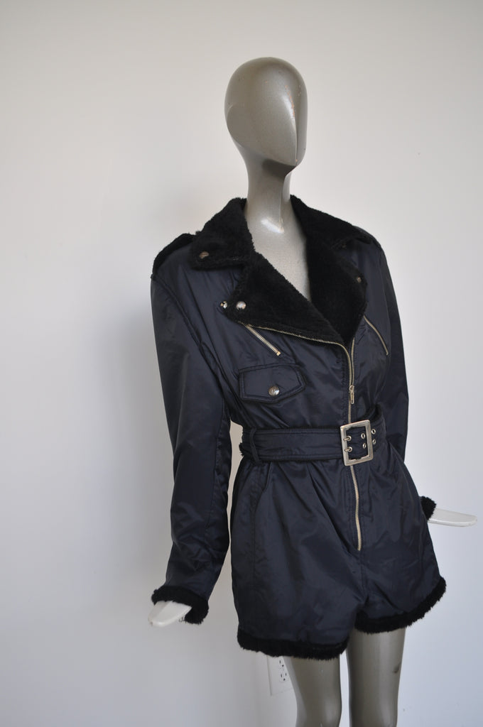 Jean paul Gaultier mini moto jumpsuit Junior Gaultier