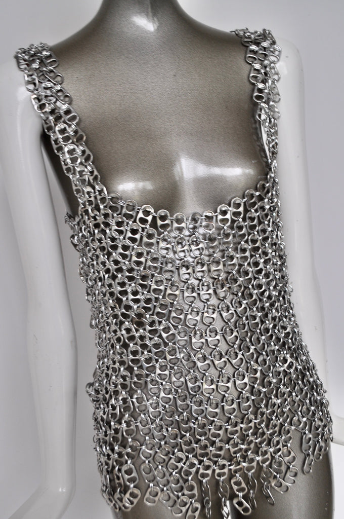 Metal mesh top from the 70s