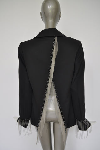 Leather jacket with spikes designed by Craig Morisson 90s