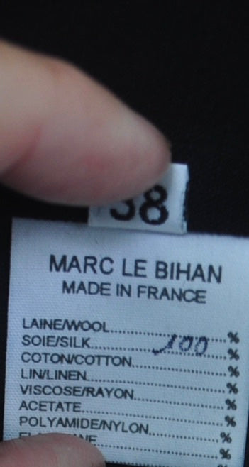 Marc Le Bihan priest coat from the 90s