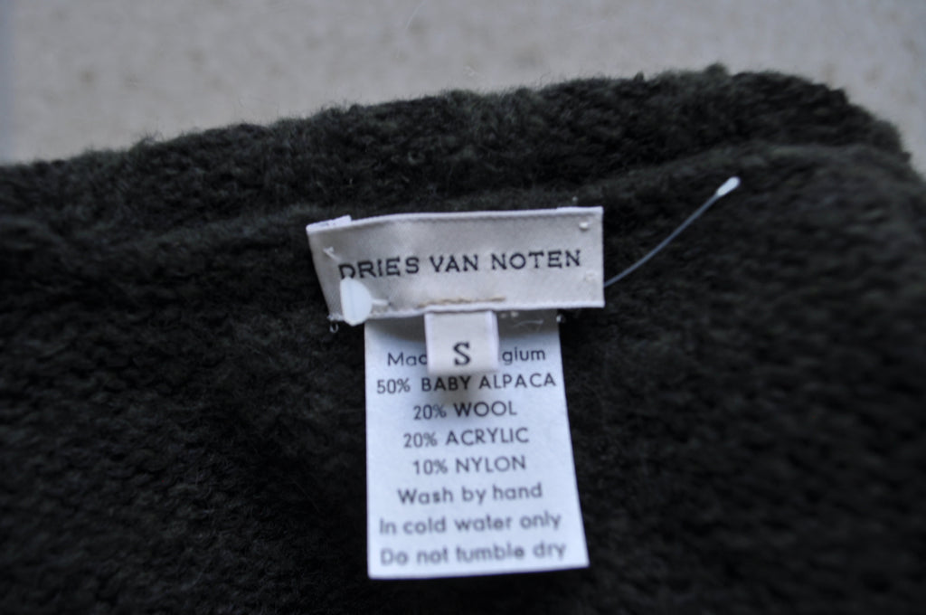 Dries van Noten Shoulder sweater avant garde