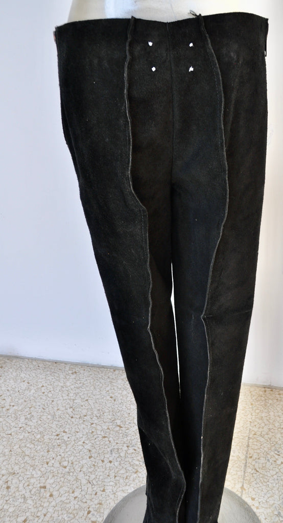 Margiela suede pants unused small size all original 1997