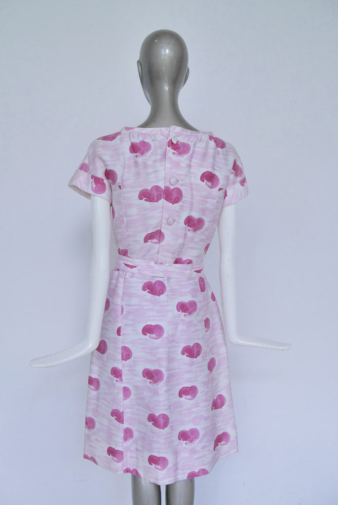 60s mod Courreges dress. Andre Courreges vintage dress