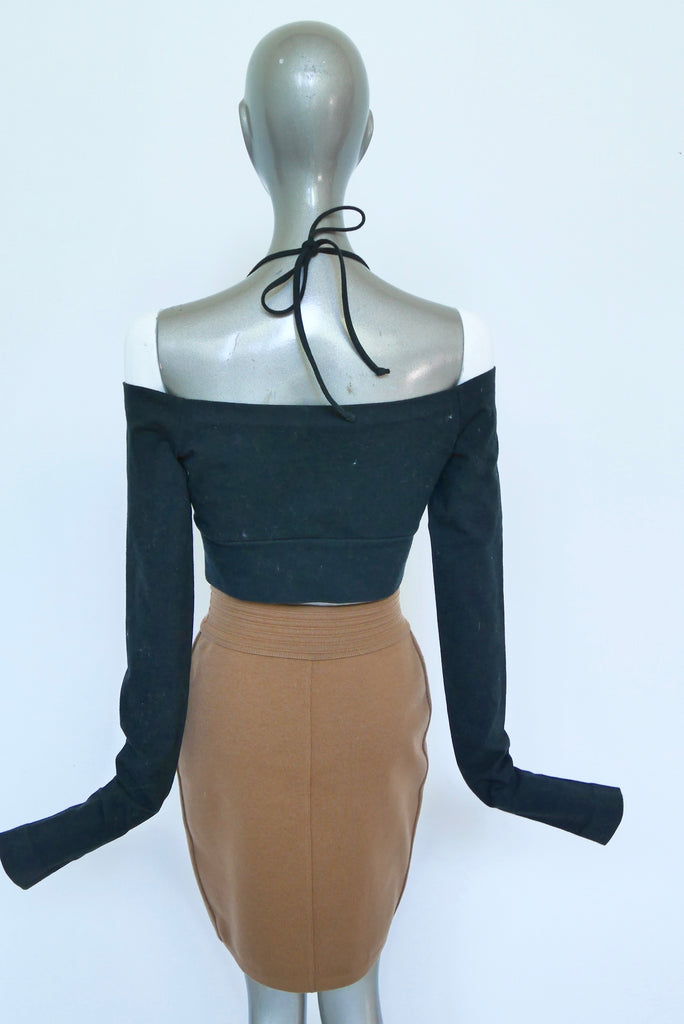 Alaia fitted mini skirt circa 1995