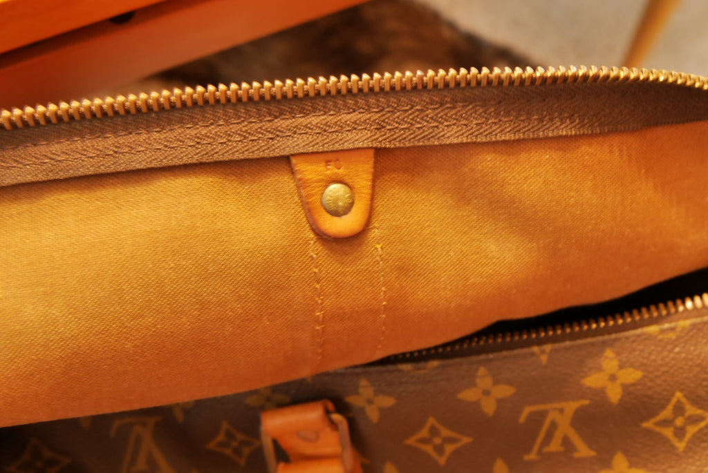 Louis Vuitton monogram canvas duffle weekender bag large