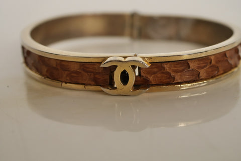 80s Tristano Onofri belt with huge initial buckle gold hardware very avantgarde