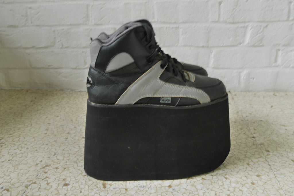 Buffalo tower platforms black sz 41