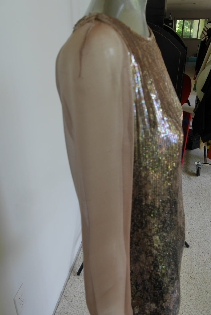 Oscar de la Renta Haute Couture sample evening gown  Runway