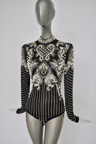 Azzedine Alaia cinch dress circa 1995