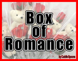 Cuddle Me, Teddy Bear & Rose - Box of Romance.