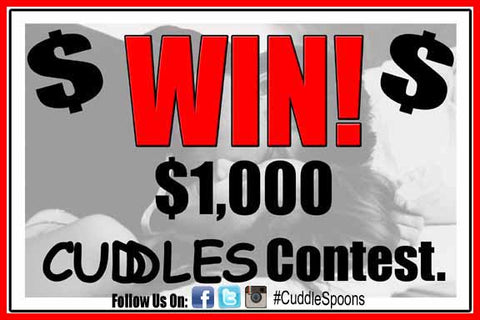 Cuddle Spoons thousand dollar Give-a-Way Photo Contest.