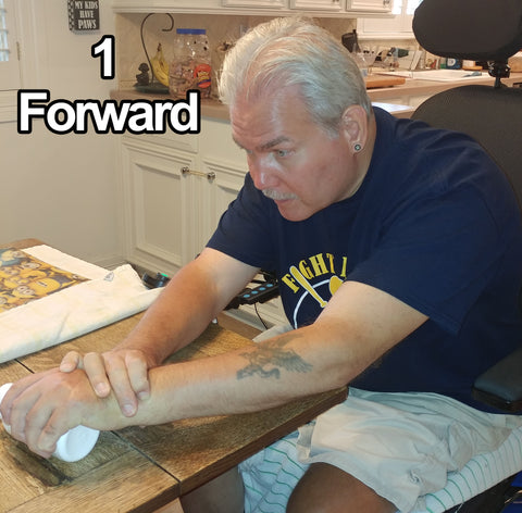 Forward - Hand, Arms, Trunk/Stomach Exercising - Rehabilitation: Recovering from a Stroke Part 3.