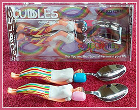 Cuddle Spoons Rainbow Free set.