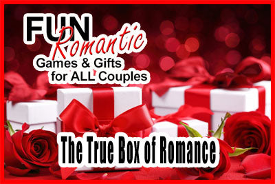 Box of Romance - Game & Gifts for Couples, Singles in all Relations. By Cuddle Spoons
