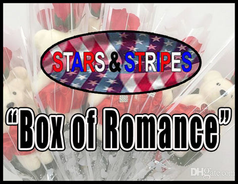 Box of Romance *Stars and Stripes - Fun Games & Gifts for Couples in any Relationship.