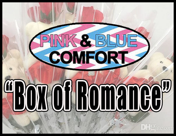 2. Box of Romance - Pink & Blue