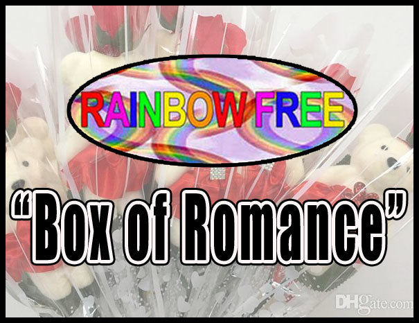 Box of Romance *Rainbow Free  – 7 Fun Games & Gifts for Couples & Singles in any Relationship. LGBTQ, Gay & Lesbian Favorite!