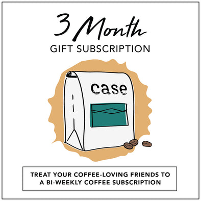 Case Coffee Gift subscription