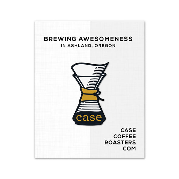 Case Coffee, Enamel Pin