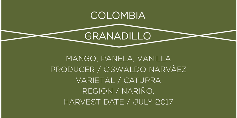 Colombia, Granadillo, Case Coffee Roasters