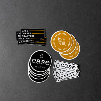 Case Coffee Roasters, Stickers