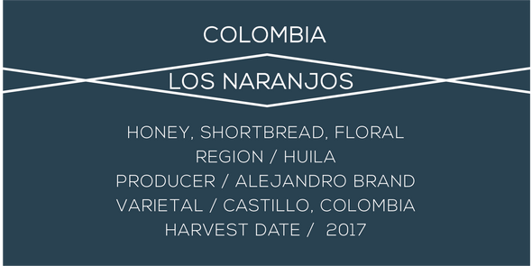 Colombia Los Naranjos - Case Coffee Roasters