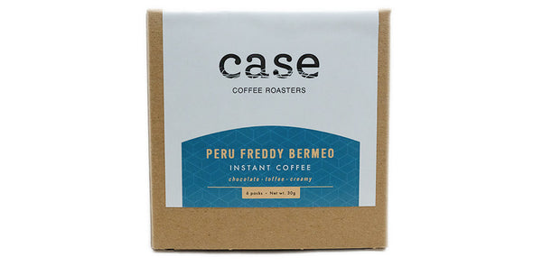 Instant Coffee - Peru Freddy Bermeo - Case Coffee Roasters