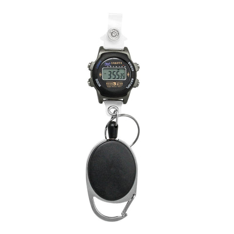 Nurses Digital Watch Clip-on Retractable Badge Holder Dakota 36552