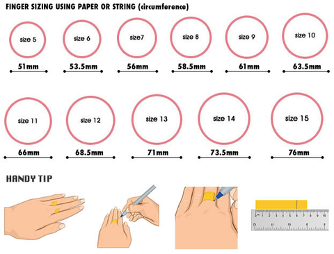 image relating to Printable Ring Size Strip called Dimensions Wrist Rye